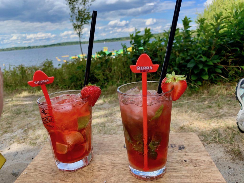 Entspannung mit Cocktail