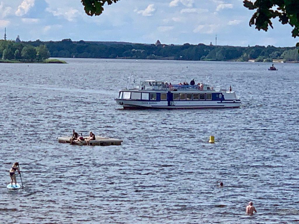 Auf dem Senftenberger See